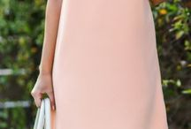 Dusty pink / #fashion #dress #old-pink #dusty-pink