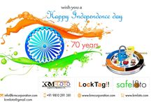 Lets celebrate the colour of freedom with krmloto..!! Happy Independence Day 15 August  2017 #wish #krmloto #safelotoindia #proudtobeanindian #love#india #celebration #locktagindia