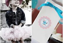 Cowgirl Party Ideas / by The TomKat Studio
