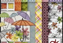 Digital Scrapbooking Papers & Embellishments / by Simply Kierste {Kierste Wade}