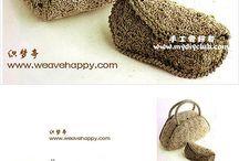 Pochete crochet