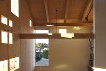domy stromy / architektura interiery design umění krajina