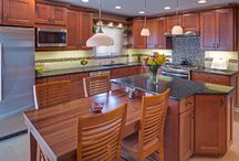 Transitional Kitchens / Beautiful transitional kitchens by Dream Kitchens.