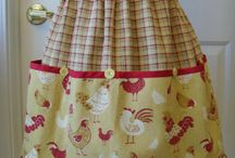 Aprons / I love aprons. Reminds me of June and Donna