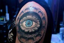 Tattoo / Kolejne prace z Pracowni Tatuażu Artystycznego Kattattoo