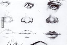 kreslení obličeje