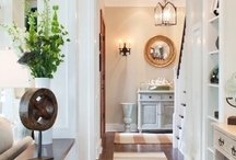 hallways / by Angie Helm Interiors