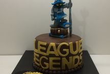 league of legends cake / league of legends pasta