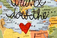 Wanderlust / Places to go.