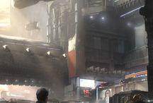 Cidades CyberPunk