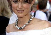 Keira Knightley Actress / Actress Keira Christina Knightley was born in the South West Greater London.   Daughter of actor Will Knightley and actress turned playwright Sharman Macdonald.  Her father is English.  / by Kurtis Sanders