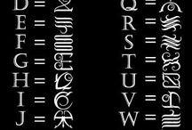 alfabetet tatoo