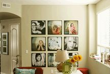 Ways to put photos in your home