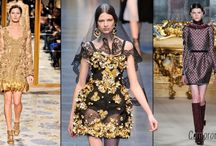 The Baroque style in modern fashion