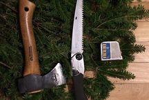 Enjoy Christmas with a Silky saw