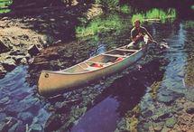 Outdoor Canoeing