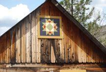 Barn quilts, ferme