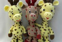 HRAČKY - žirafky