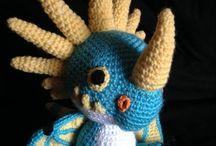 Crochet Amigurumi (Dragons)