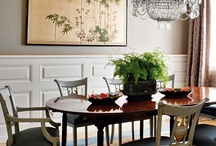 Home decor:Dining rooms / Dining room design and Dining room decorating ideas / by Jen Rizzo