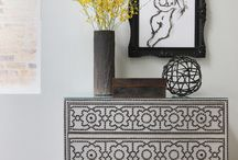Lustin Ave New Tradish Entry / by Laura Martin Bovard Interiors