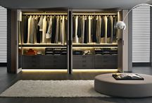 B&B Italia 'Wardrobes' / B&B Italia SpA is an Italian modern furniture company whose products are sold worldwide. The company was founded in 1966 by the Busnelli family, who manages the company.