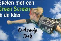 video: green screen