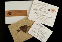 Rustic wedding invitations / by InvitesWeddings