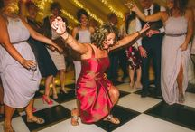 Ultimate Wedding Dancing Photos / Silliness, fun and totally mad, you have got to love wedding dance floors, full of all ages throwing their shapes.