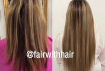 Sewn in Hair Extensions