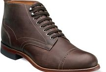 Stacy Adams / At TheShoeMart.com, we are proud to carry the Stacy Adam's Madison line. Stacy Adams Madison Boots and Oxfords have earned their respect among the most style-conscious gentlement and their time honored design will still be in fashion for decades to come.  / by The Shoe Mart