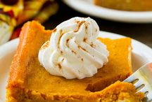 Fall pumpkin treats