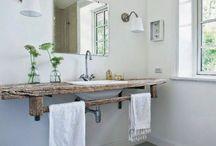Bancadas casa de banho e cozinha