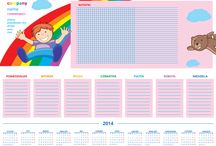 Kalendarze Pigprint / Projekty dostępne na www.pigprint.pl