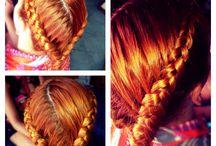 Fryzury moje / Hair by myself :) contact on Facebook Patrycja Dyrmo-Kowalczyk