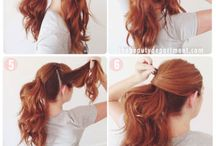 Hair style / Change hairstyle to be a new person. Refresh and be gorgeous
