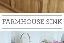 Farmhouse sink and kitchen style