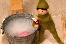 Felted Elves (Christmas)