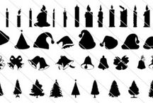 Christmas Silhouette Vector / Christmas is one of the most happy times of the year but it can be stressful graphics designers to find the right graphics for their holiday related vector graphics for their designs. In order to increase their work we have a collection of high quality Christmas silhouette vector graphics. Some of the silhouette illustrations in this collection are Christmas trees, bells,