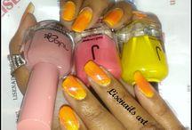 Dégradé de couleurs nail polish