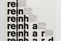 Typography / Type that inspires
