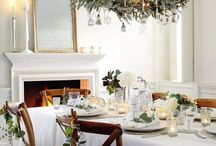 White Christmas / We can't always guarantee that the magic white stuff will put in an appearance on Christmas day, so here's some snowy white inspiration to help you create a white winter wonderland - indoors!