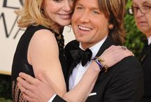 Nicole Kidman & Keith Urban / by Shirley Morlan