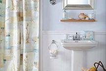 Bathroom / Blue; beach theme / by Sarah Bowers