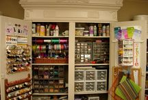 Home: Craftroom Dreams! / by Carrie Clark Trudden