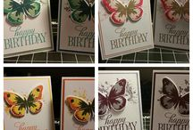 stampin'up butterfly