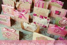 Shabby Chic / Shabby Chic Wedding Theme- Inspiration