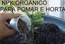 npk organico-pomar e horta