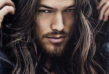 Mens Long Hair / Mens long hair inspiration hippie bohemian surfer cool