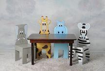 mobiliario infantil  safari